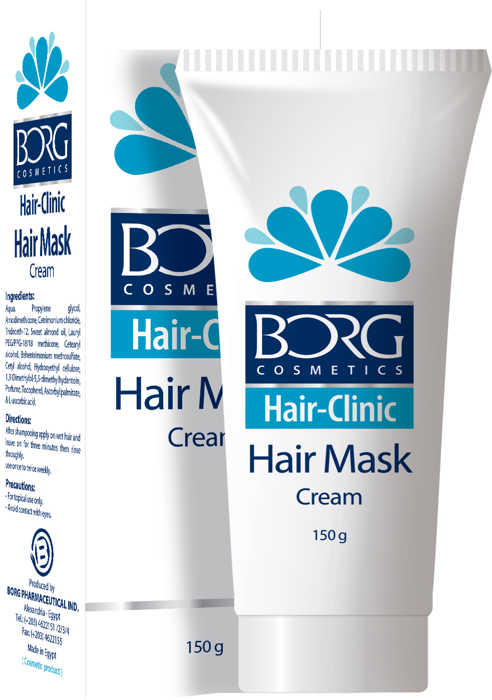 Borg Hair Mask Cream Borg